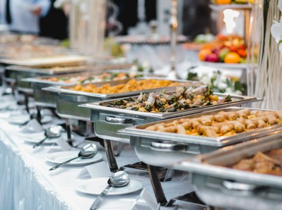 catering buffet for events wedding